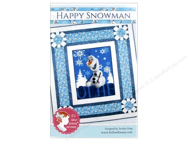 It's Sew Emma Happy Snowman Pattern