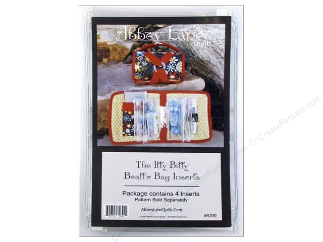 Abbey Lane Quilts Itty Bitty Beatle Bag Refill 4 pc.