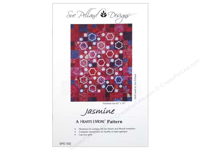 Sue Pelland Designs Hearts And More Jasmine Pattern
