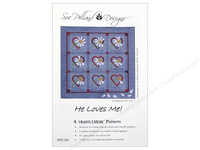 Sue Pelland Designs Hearts And More He Loves Me Pattern