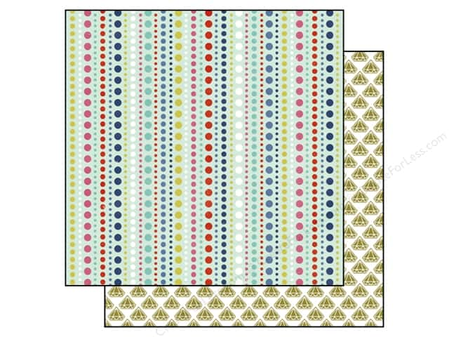 Echo Park 12 x 12 in. Paper Anything Goes Collection Dots (25 sheets)