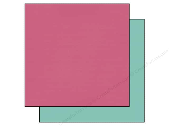 Echo Park 12 x 12 in. Paper Anything Goes Collection Pink/Teal (25 sheets)