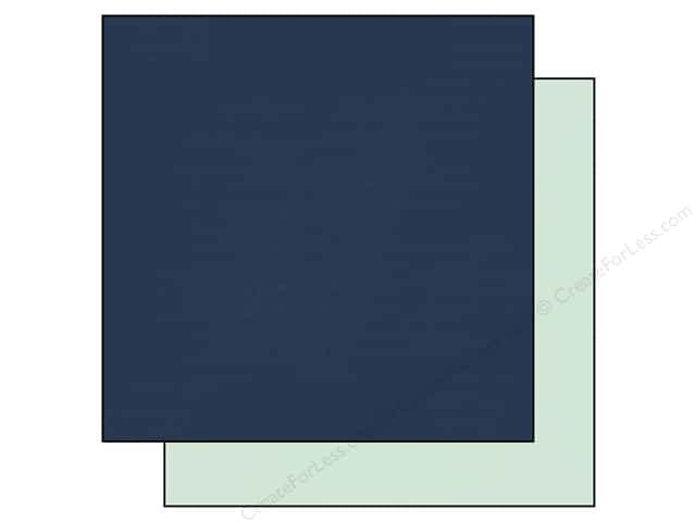 Echo Park 12 x 12 in. Paper Anything Goes Collection Navy/Mint (25 sheets)