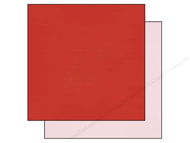 Echo Park 12 x 12 in. Paper Anything Goes Collection Red/Light Pink (25 sheets)