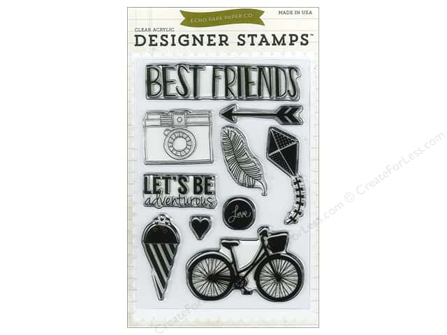 Echo Park Designer Stamp Anything Goes Collection