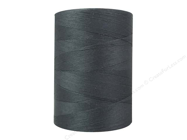 Coats Cotton Machine Quilting Thread 1200 yd. #0621 Graphite
