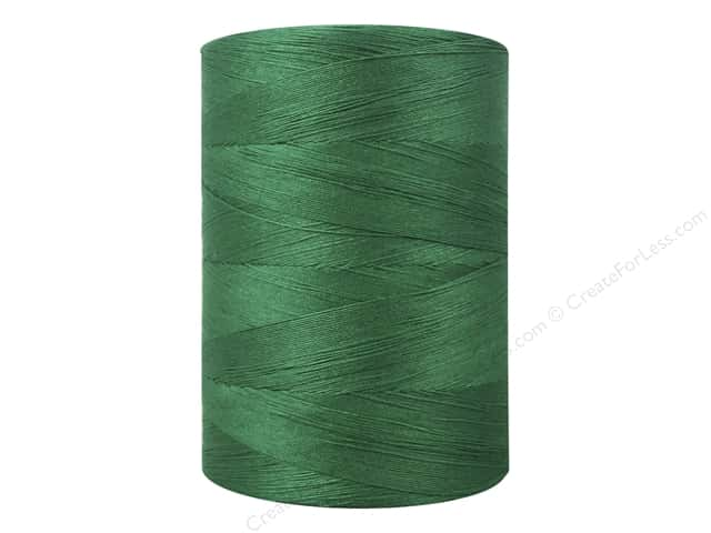 Coats Cotton Machine Quilting Thread 1200 yd. #6550 Kerry Green