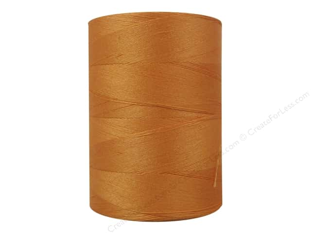 Coats Cotton Machine Quilting Thread 1200 yd. #75A Tangerine
