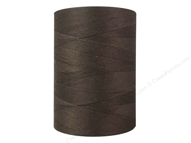 Coats Cotton Machine Quilting Thread 1200 yd. #8380 Seal Brown