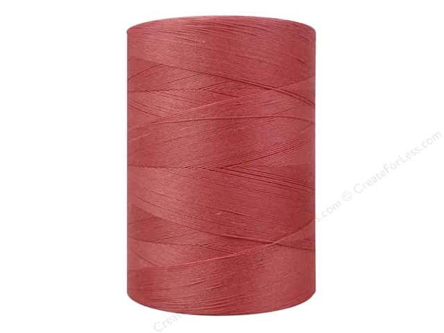 Coats Cotton Machine Quilting Thread 1200 yd. Flamingo