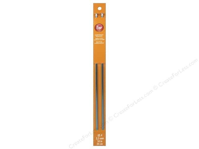Boye Single Point Knitting Needles Aluminum 14 in. Size 4 (3.5 mm)