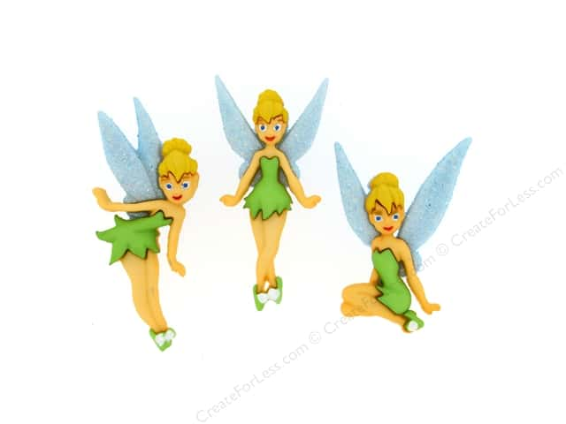 Jesse James Dress It Up Embellishments Disney Tinker Bell