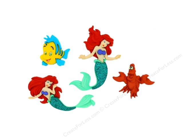 Jesse James Dress It Up Embellishments Disney The Little Mermaid