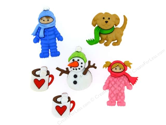Jesse James Dress It Up Embellishments Fun In The Snow
