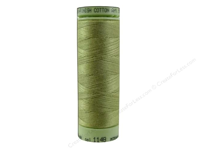 Mettler Silk Finish Cotton Thread 60 wt. 220 yd. #1148 Seaweed