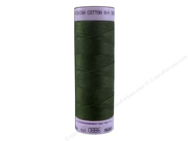 Mettler Silk Finish Cotton Thread 50 wt. 164 yd. #0886 Cypress