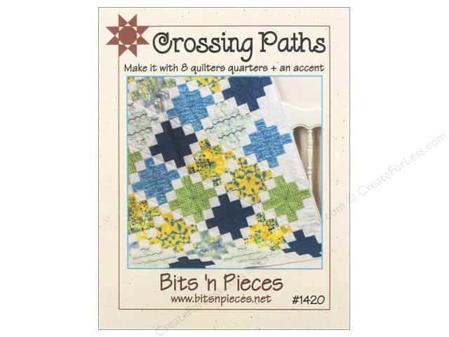 Bits 'n Pieces Crossing Paths Pattern