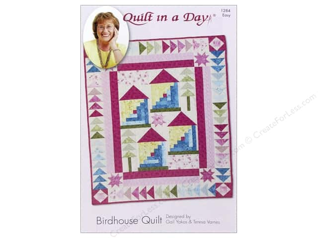 Quilt In A Day Birdhouse Quilt Pattern