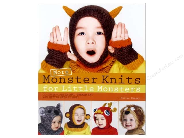 St Martin's Griffin More Monster Knits Book