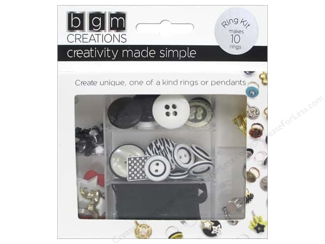 Buttons Galore BGM Creations Teen Ring Kit