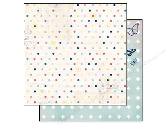 Bo Bunny 12 x 12 in. Paper Sweet Life Dot (25 sheets)