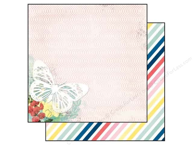 Bo Bunny 12 x 12 in. Paper Sweet Life Wish (25 sheets)