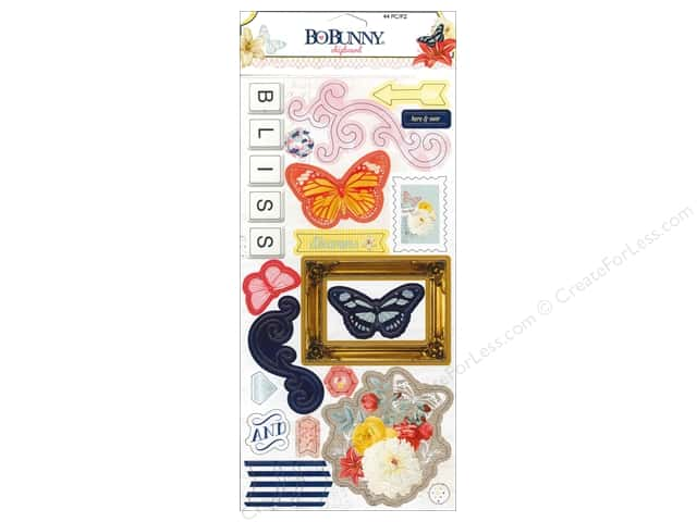 Bo Bunny Chipboard Sweet Life