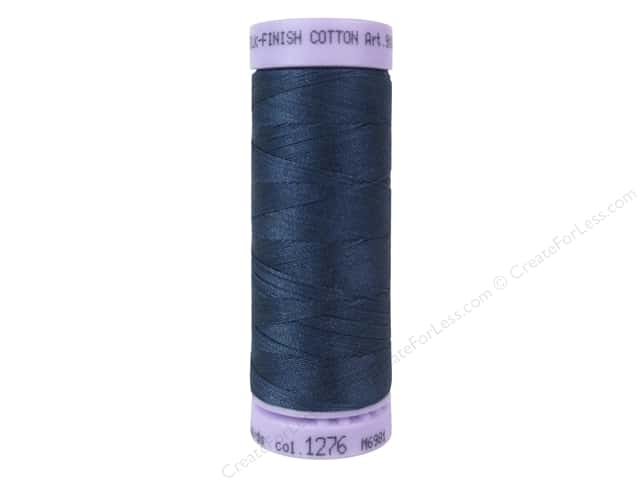 Mettler Silk Finish Cotton Thread 50 wt. 164 yd. #1276 Harbor