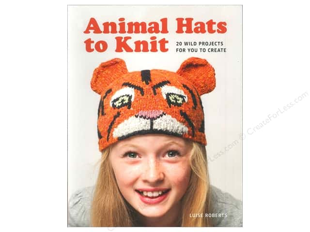 Guild of Master Craftsman Animal Hats To Knit Book