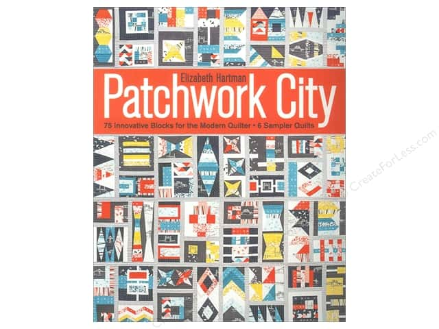 Stash By C&T Patchwork City Book