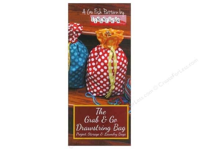 Fishsticks Designs Grab & Go Drawstring Bag Pattern