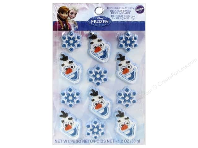 Wilton Edible Decorations Disney Frozen Icing