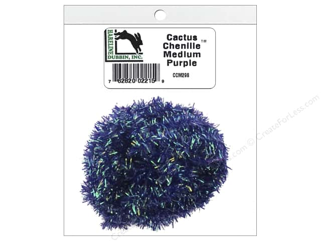 Hareline Dubbin Cactus Chenille Medium Purple