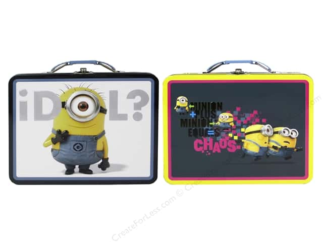 Tin Box Co Carry All Tin Large Despicable Me 1 pc.