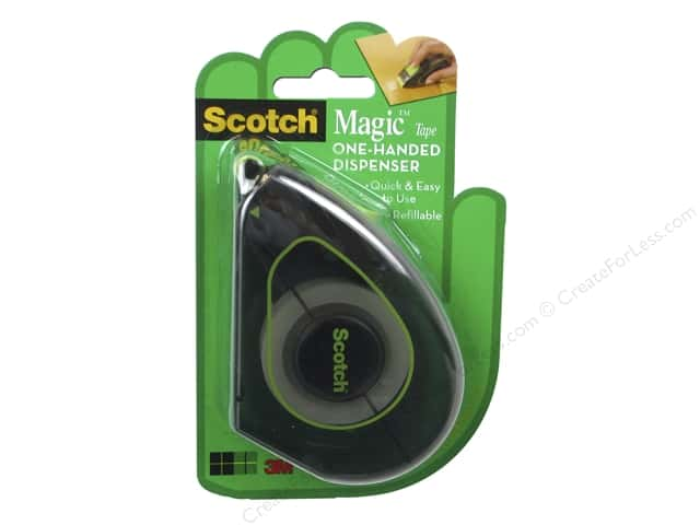 "Scotch Tape Magic One Hand Applicator 3/4""x 500"""