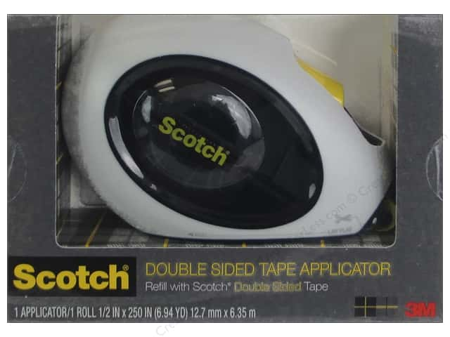 Scotch Tape Runner Double Sided Applicator 1/2 in. x 250 in.