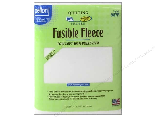 Pellon Fusible Fleece 45 x 60 in. White