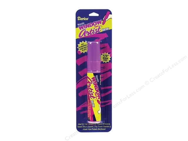 Darice Window Artist Marker Purple Chalk