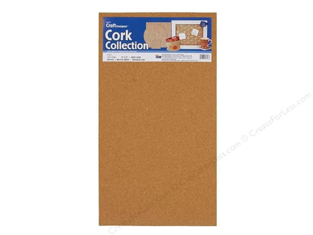 Darice Cork Sheet 1/8 x 22 x 12 in. 1 pc.