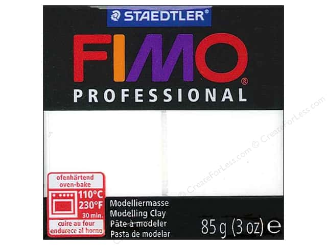 Fimo Professional Clay 3 oz. White