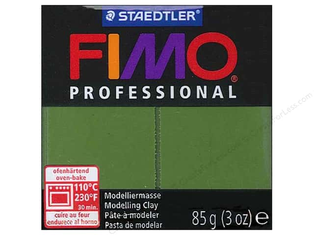 Fimo Professional Clay 3 oz. Leaf Green