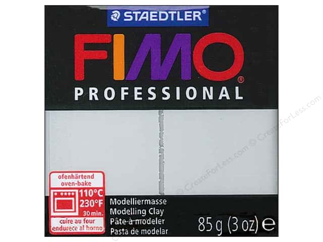 Fimo Professional Clay 3 oz. Dolphin Grey