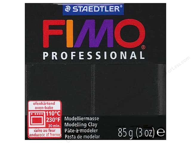 Fimo Professional Clay 3 oz. Black