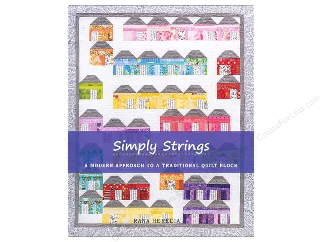 Sewn Into The Fabric Simply Strings Book