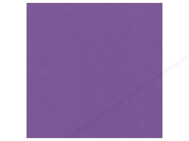 Bazzill 12 x 12 in. Cardstock Canvas Bazzill Purple (25 sheets)