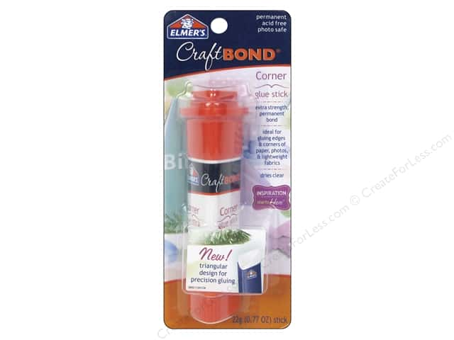 Elmer's CraftBond Glue Stick Corner .77 oz