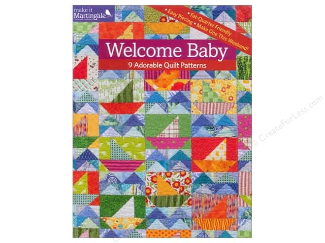 Welcome Baby: 9 Adorable Quilt Patterns Book by That Patchwork Place