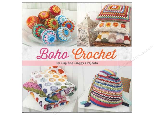 That Patchwork Place Boho Crochet Book by Marinke Slum