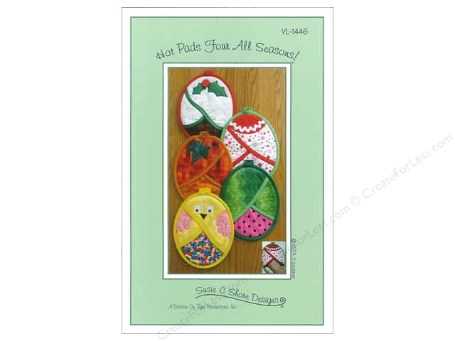 Susie C Shore Hot Pads Four All Season Pattern