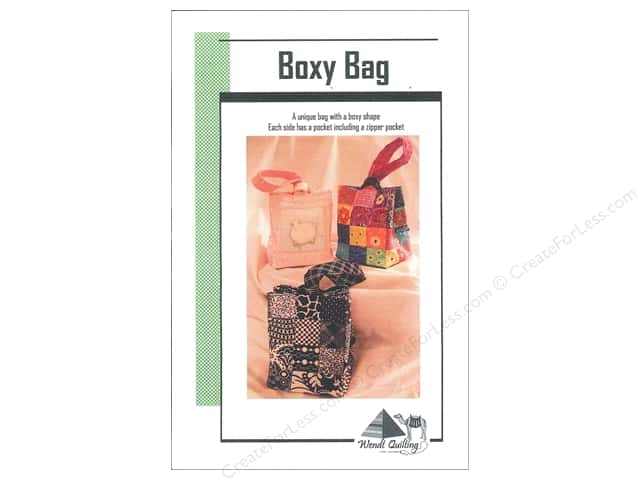 Wendt Quilting Boxy Bag Pattern